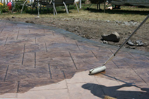 Using Concrete Sealer