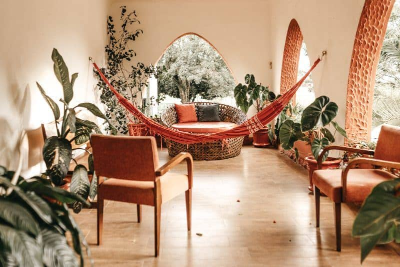 Atrium with Hammock