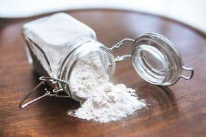Baking soda rust stain remover