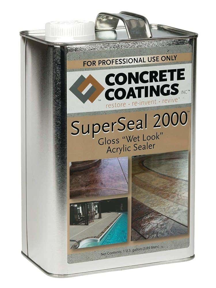 Concrete Coatings SuperSeal 2000