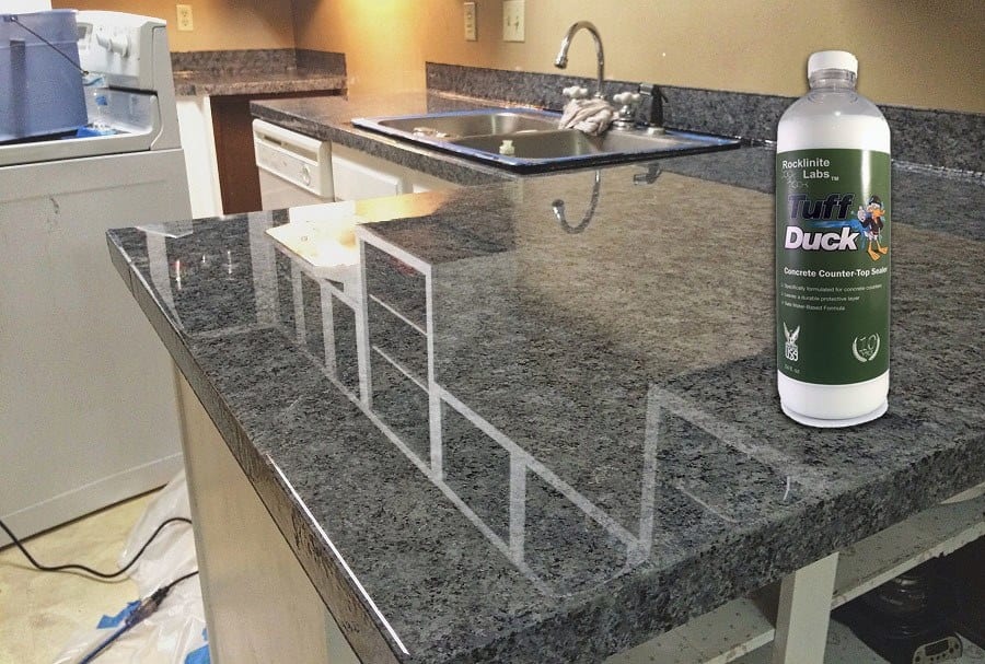 Tuff Duck Concrete Countertop Sealer Review