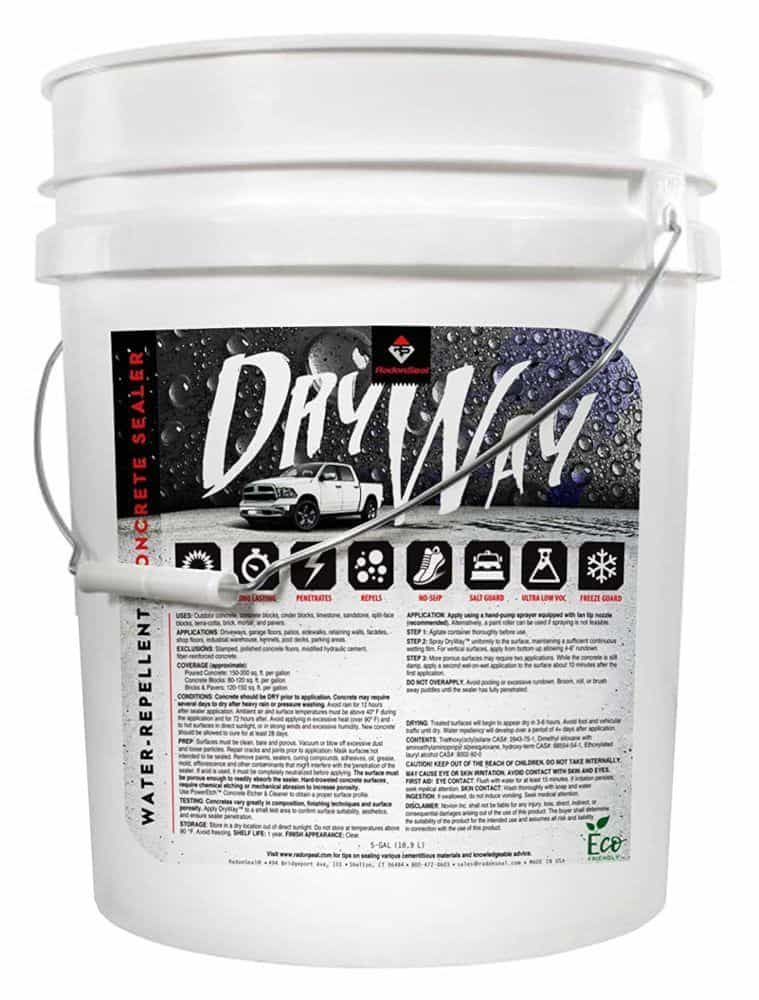 DryWay Water-Repellent Concrete Sealer