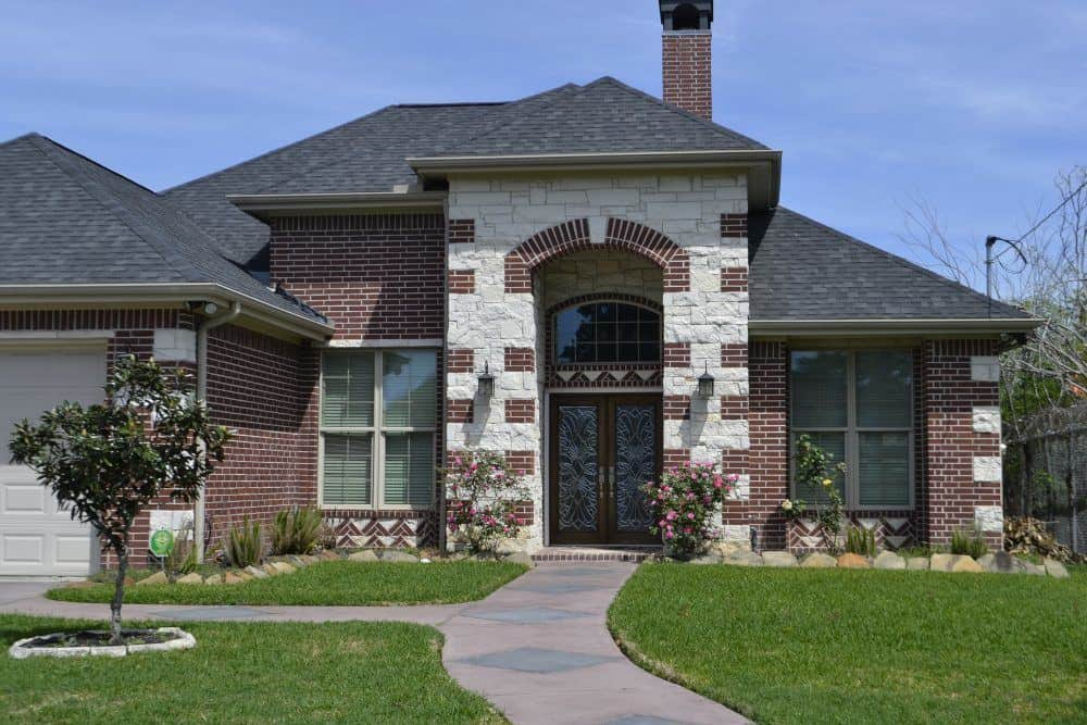 Large House with a Chimney