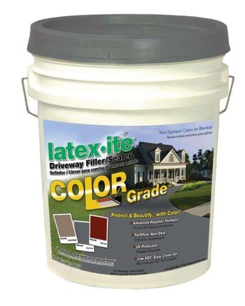 Latex-ite Color Grade Blacktop Driveway Filler