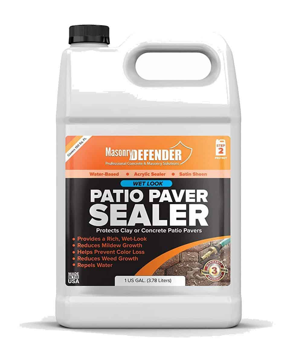 Masonry Defender Wet Look Patio Paver Sealer