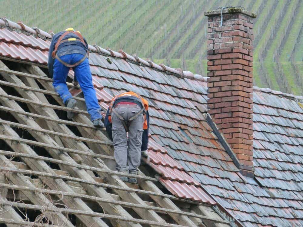 Roof and Chimney Work