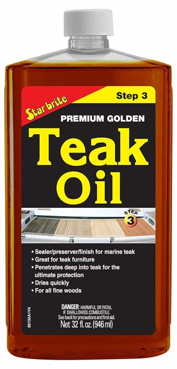 Star Brite Golden Teak Oil Sealer