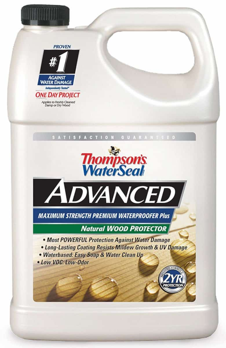 Thompson's WaterSeal Advanced Natural Wood Protector
