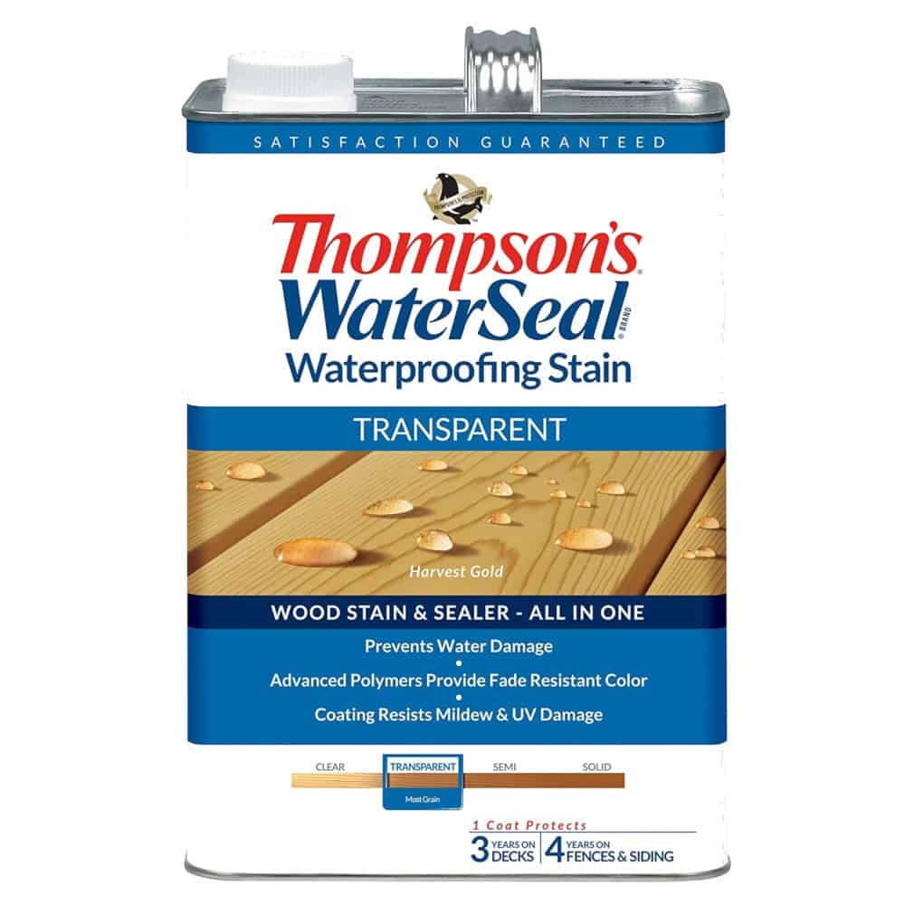 Thompson Deck Sealer Transparent Stain