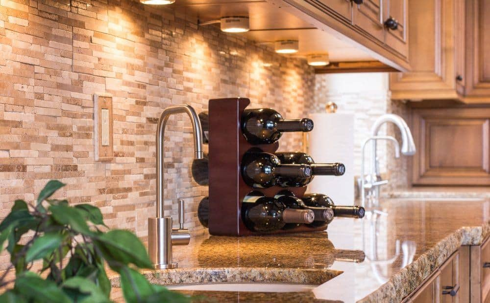 Wine Rack on Counter