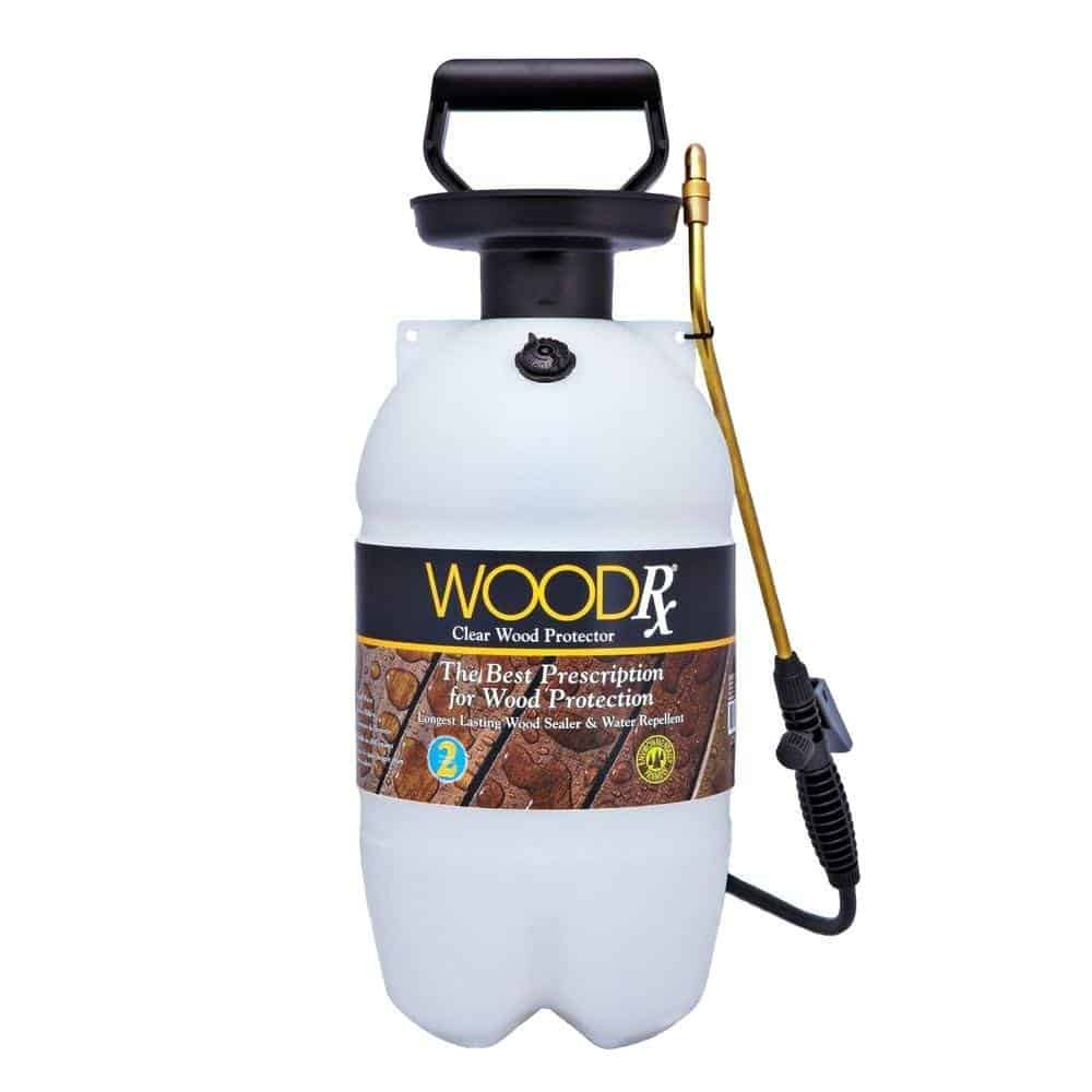 WoodRx Ultra Transparent Wood Sealer