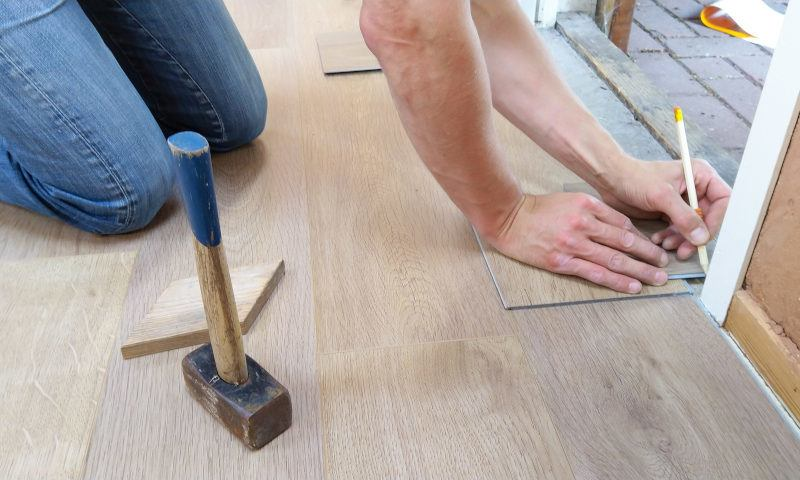 Working on Wood Floors