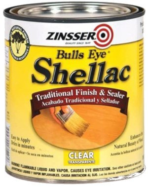 Zinsser Bulls Eye Shellac Traditional Finish & Sealer