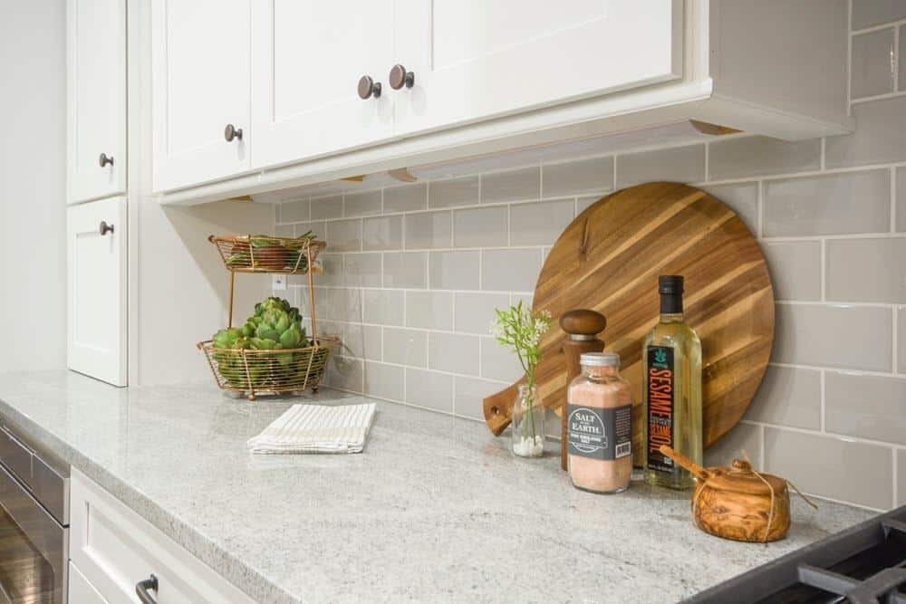 sealed marble countertop
